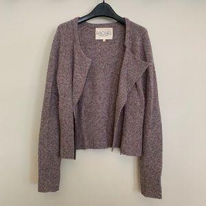 RACHEL Rachel Roy Zip Sweater Cardigan
